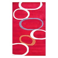 Herat Oriental Indo Hand-tufted Tibetan Wool Rug (5' x 8') - 5' x 8'