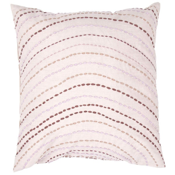 Ivory/ Pillow Square Pillows (Set of 2)