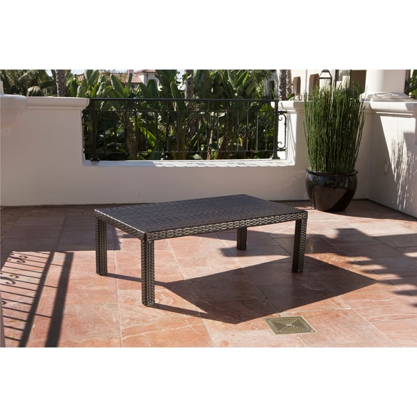 RST Brands Bliss 6 Piece Loveseat, Chairs And Ottomans Patio Set   Free  Shipping Today   Overstock.com   15049071