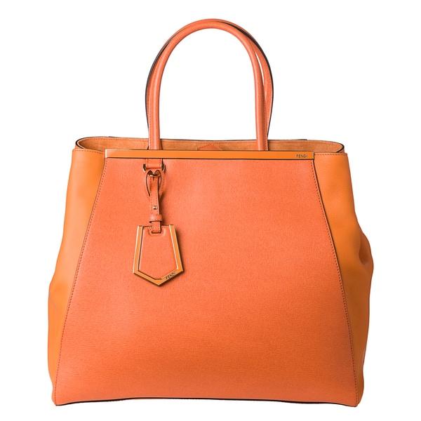 Fendi 8BH251 00D7E F0VZK Large 2Jours Shopper Bag