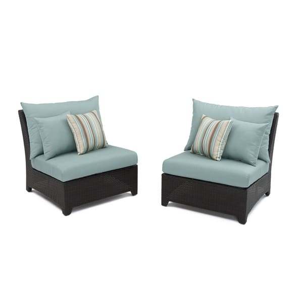 Rst Brands Bliss Patio Furniture Armless Chairs Set Of 2 On Sale Overstock 7630301