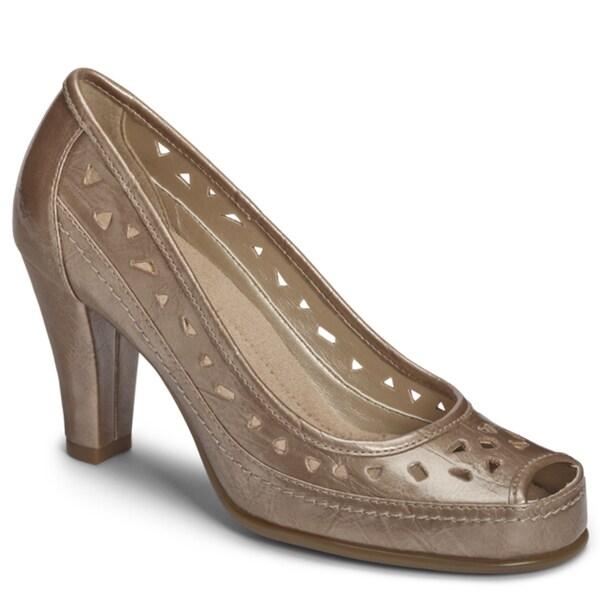 A2 by Aerosoles 'Benchanted' Peep-toe Pump Heels