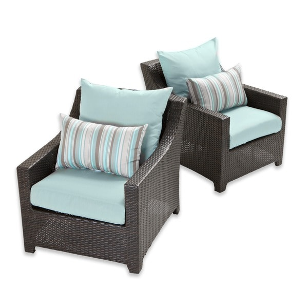 RST Brands Bliss Patio Furniture Club Chairs (Set Of 2)   Free Shipping  Today   Overstock.com   15049191