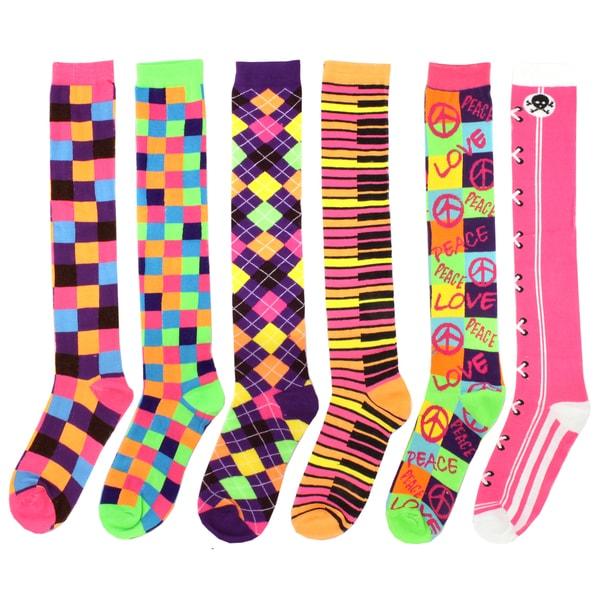 WINS Multicolor Knee Socks
