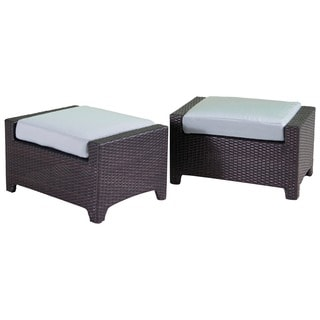 RST Brands Bliss Patio Club Ottoman (Set of 2)