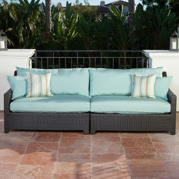 RST Brands Bliss Patio Sofa Free Shipping Today Overstock