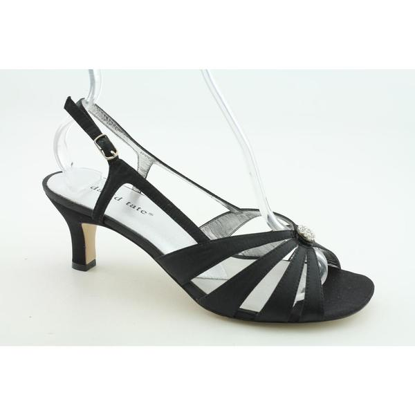 David Tate Women's 'Rosette' Satin Dress Shoes - Narrow (Size 10)