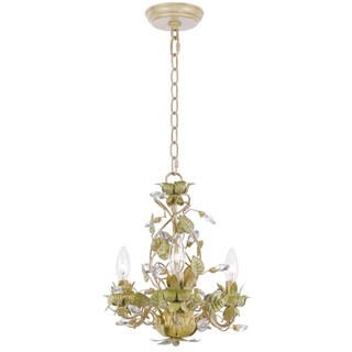 Crystorama Josie Collection 3-light Champagne Chandelier