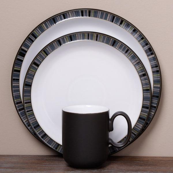 Denby Jet Stripes 12-piece Tableware Set