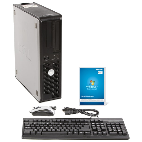 Dell Optiplex 740 AMD A64x2 2.8GHz CPU 4GB RAM 160GB HDD Windows 10 Pro Desktop PC (Refurbished)
