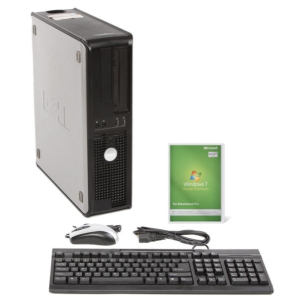 Dell Optiplex 740 AMD A64x2 2.8GHz CPU 4GB RAM 160GB HDD Windows 10 Home Desktop PC (Refurbished)