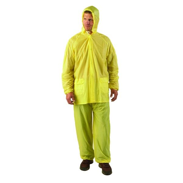 Texsport Medium Yellow Vinyl Rain Suit