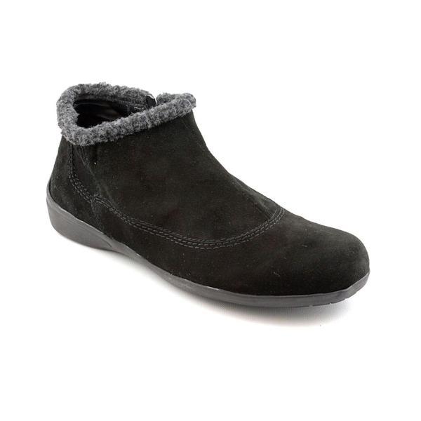 Easy Spirit Women's 'IcyFeet' Regular Suede Boots - Extra Wide (Size 8)
