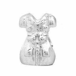De Buman Sterling Silver Dress Charm Bead
