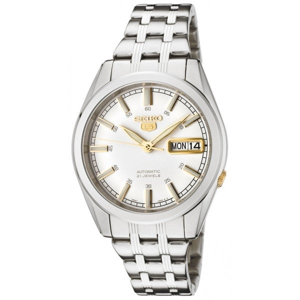 Seiko Men's Two-tone Steel Automatic Watch