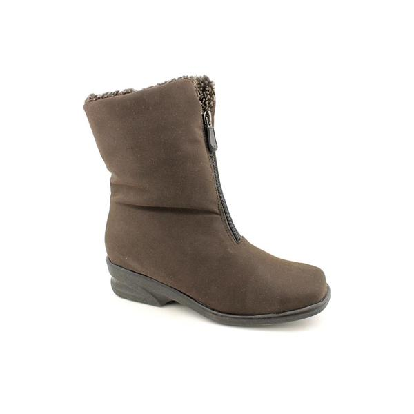 Toe Warmers Women's 'Michelle' Fabric Boots - Extra Wide (Size 11)