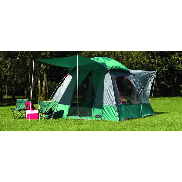 Texsport The Lodge SUV Square Dome Tent  sc 1 st  Overstock.ca & Shop Texsport The Lodge SUV Square Dome Tent - Ships To Canada ...