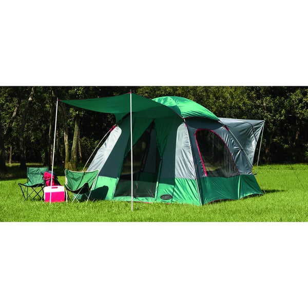 Shop Texsport The Lodge SUV Square Dome Tent - Free Shipping Today - Overstock - 7632300  sc 1 st  Overstock.com & Shop Texsport The Lodge SUV Square Dome Tent - Free Shipping Today ...