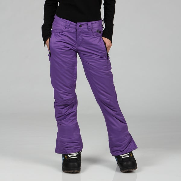Zonal Women's 'Standoff' Purple Snowboarding Pants