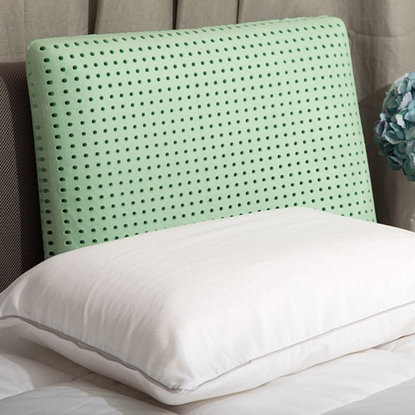 Dream Form Green Tea Ventilated Memory Foam Pillow