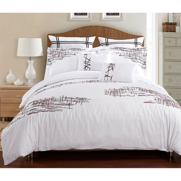 Superior Lily 7-piece Duvet Cover Set