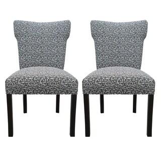 Bella Sprinkles Grey Dining Chairs (Set of 2)