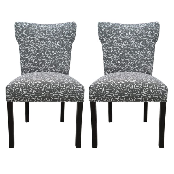 Bella Sprinkles Grey Dining Chairs (Set of 2)