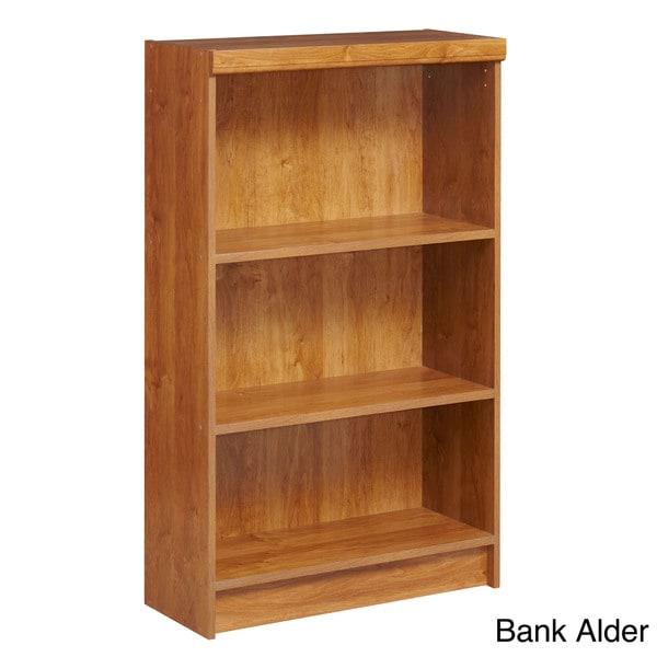 akadaHOME Fixed 3-shelf Bookcase