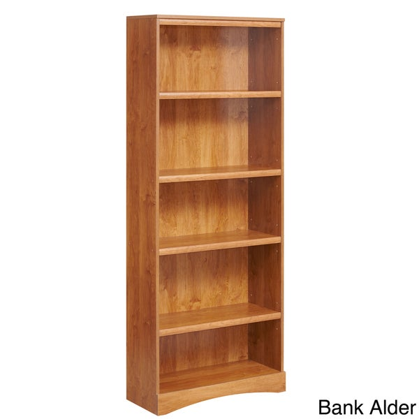 akadaHOME Five Shelf Bookcase