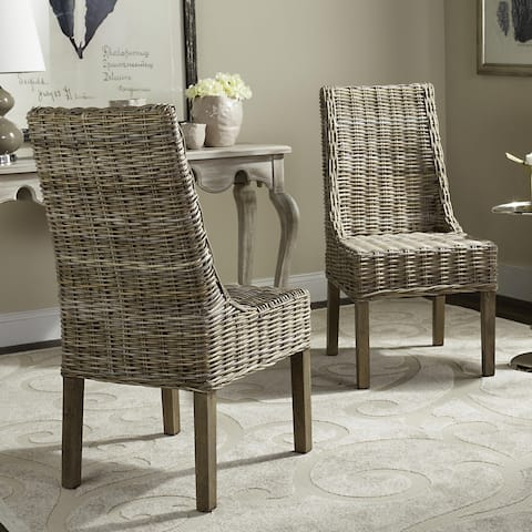 Buy High Back Wicker Kitchen Dining Room Chairs Online At
