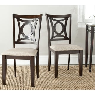 Safavieh Parsons Dining Sophia Beige Dining Chairs (Set of 2)
