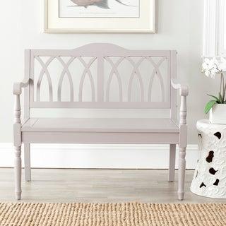 Safavieh Benjamin Grey Bench