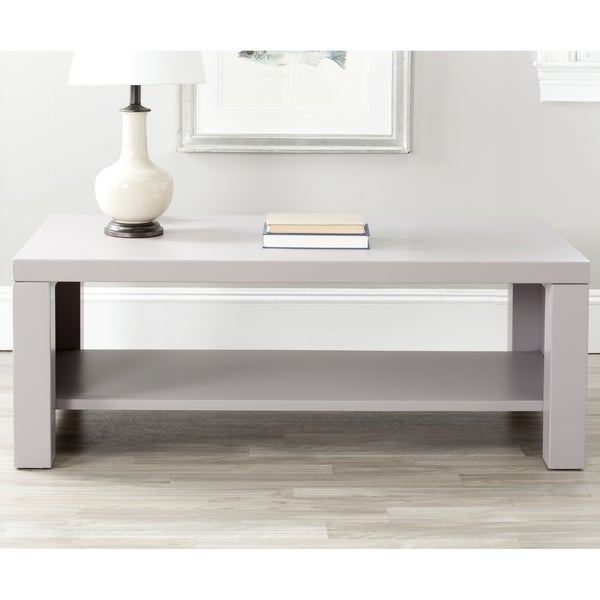 Wilson Antique White Coffee Table: Safavieh Lahoma Coffee Table