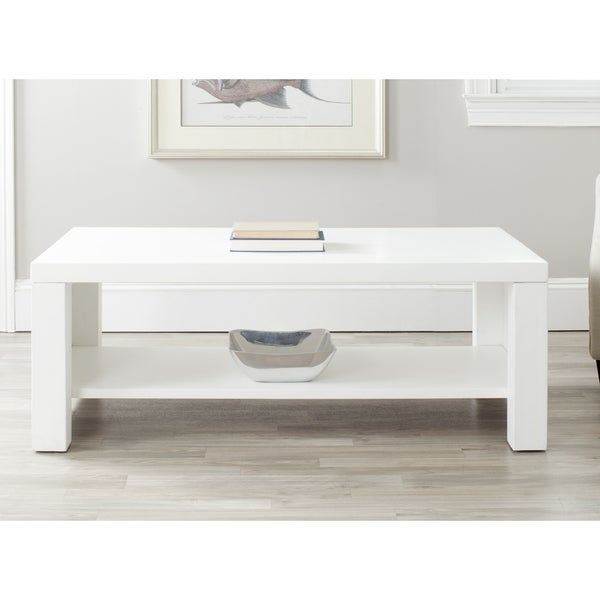 Safavieh Lahoma White Coffee Table