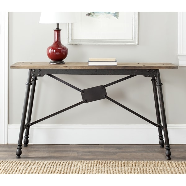 Safavieh Larry Natural Console Table