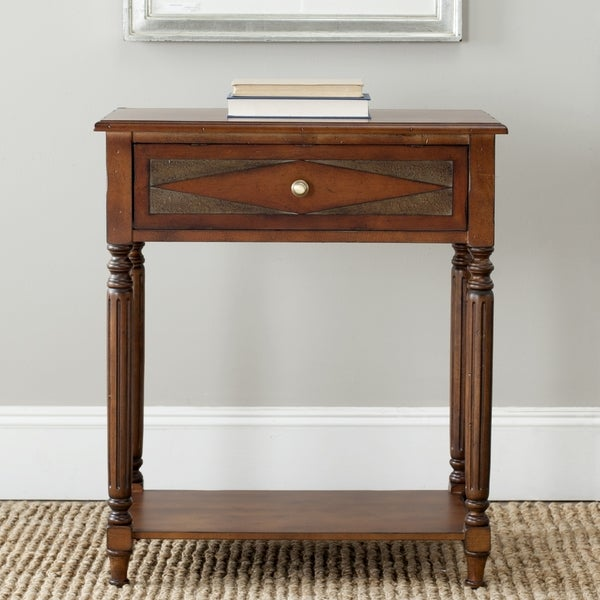 Safavieh Susan Dark Brown Side Table