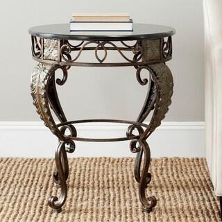 Safavieh Karen Dark Brown Side Table