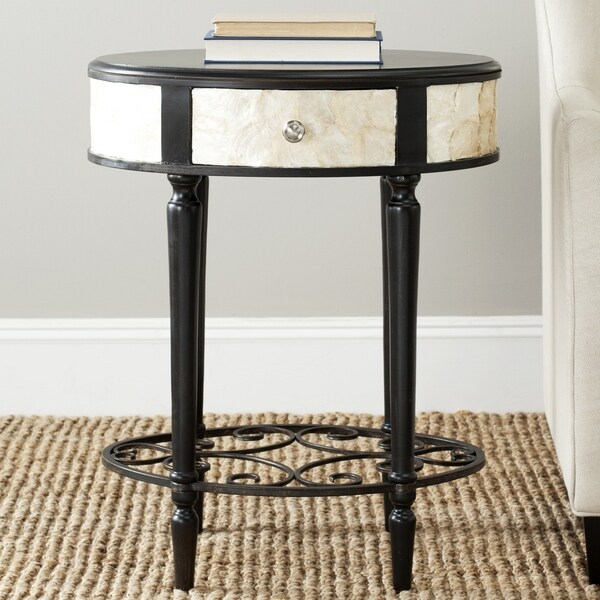 Safavieh Gregory Dark Brown Side Table