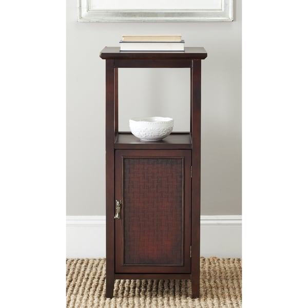 Safavieh Mike Dark Brown Storage Side Table