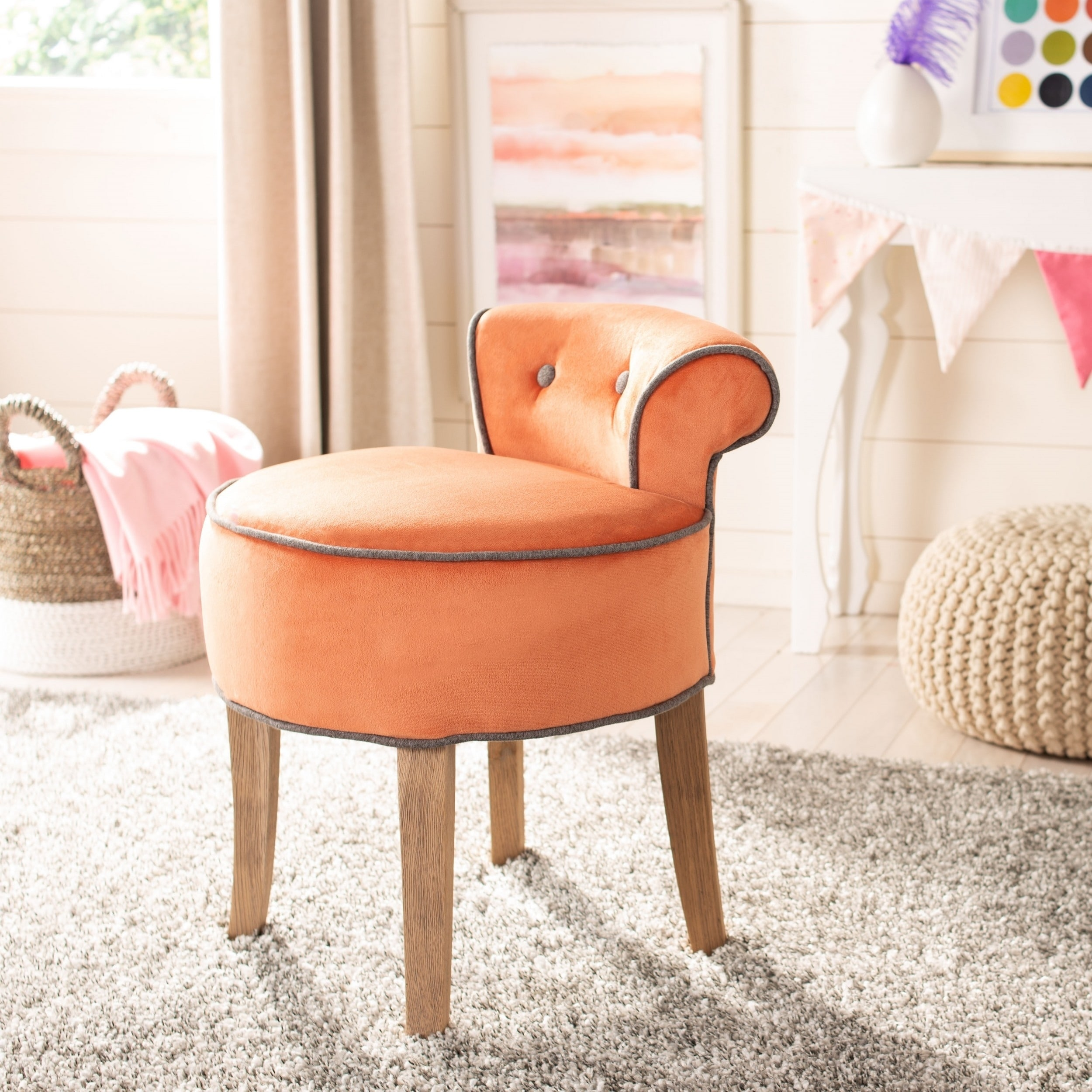 Orange Safavieh Living Room Chairs | Shop Online at Overstock