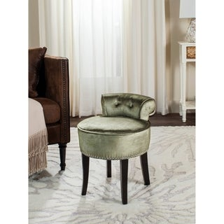 Safavieh Georgia Pewter Vanity Stool