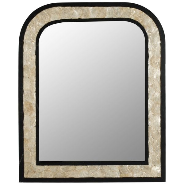 Safavieh Gregory Dark Brown Mirror