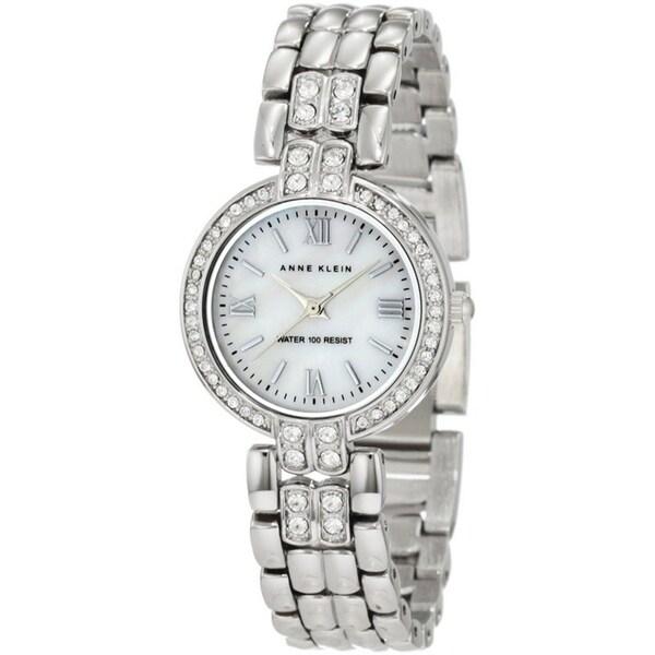 Anne Klein Women's Silver Stainless-Steel Water-Resistant Watch