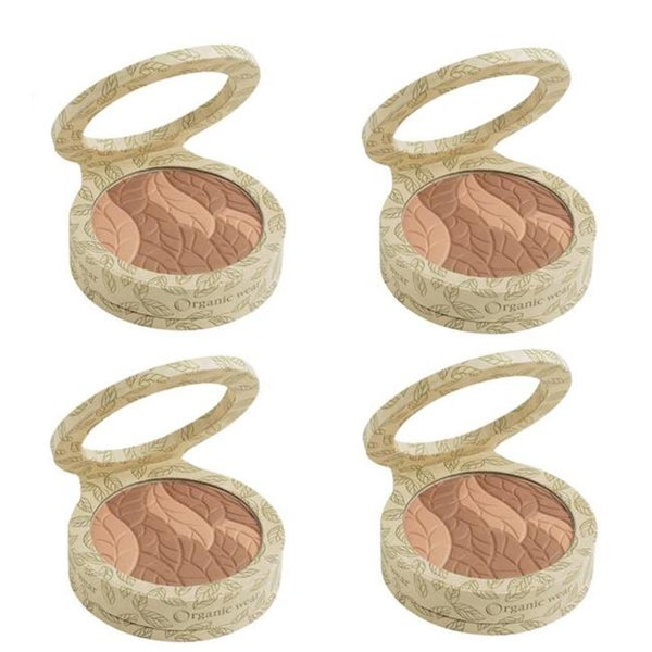 Physicians Formula Organic Wear Bronzer Fair Skin 2158 (Set of 4)