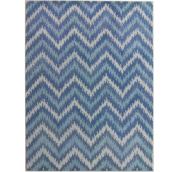 Safavieh Handmade Wyndham Blue New Zealand Wool Area Rug - 8' x 10'