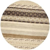 Safavieh Handmade Wyndham Ivory New Zealand Wool Rug - 7' x 7'