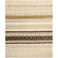 Safavieh Handmade Wyndham Ivory New Zealand Wool Area Rug - 8' x 10'