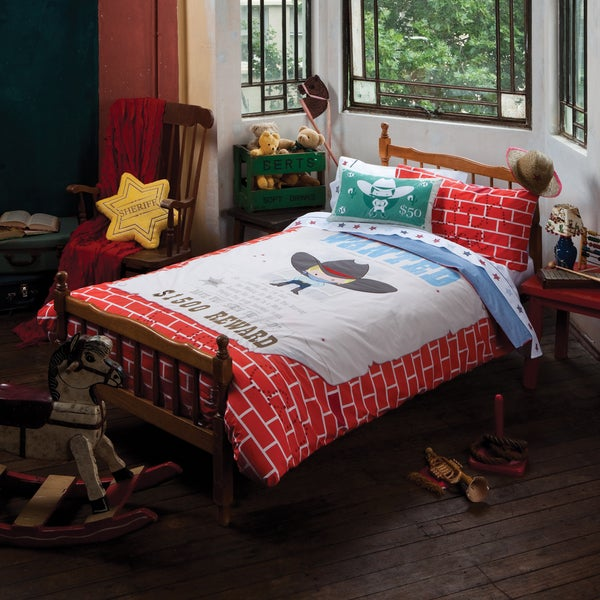 'Wanted' 5-piece Duvet Cover Set