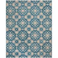 Safavieh Handmade Wyndham Blue New Zealand Wool Rug - 8' x 10'