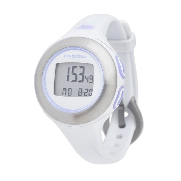 New Balance White HRT Slim Mini Watch